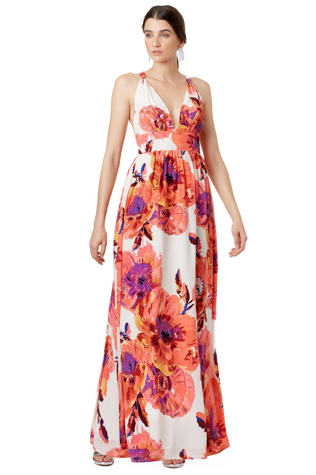559e79f144 Napa Wedding - Yumi Kim Floral Cabo Maxi Dress