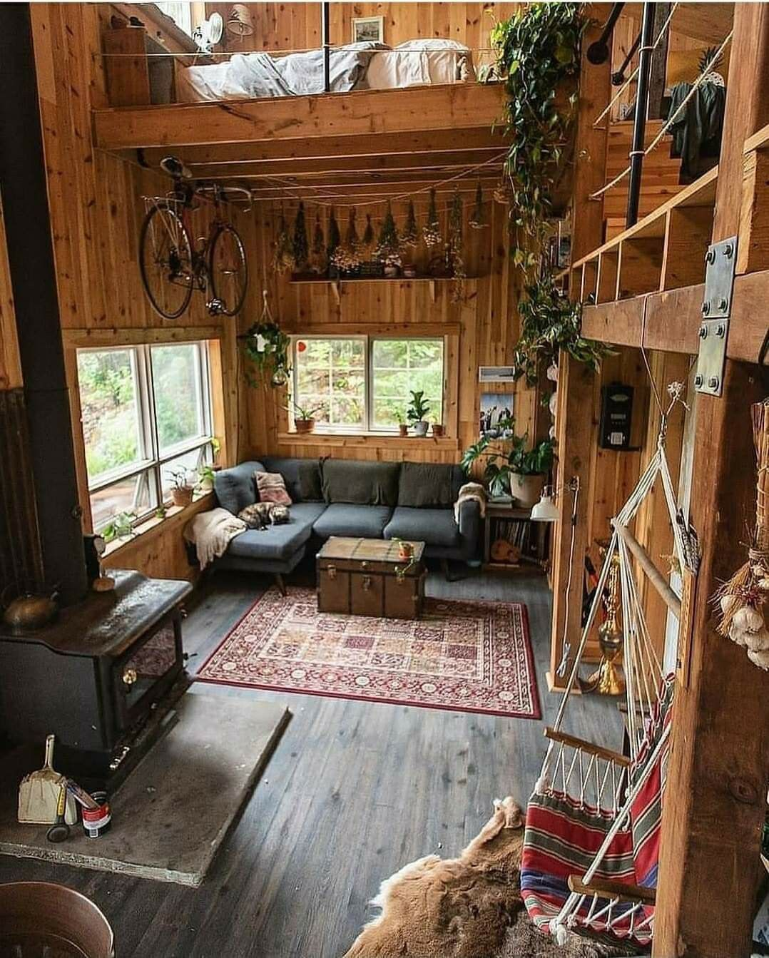 Pin By Barbara James On Dream Home In 2021 Tiny House Cabin Tiny House Design House