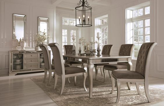Birlanny Extension Dining Room Set in 2018 Kitchen tables Dining