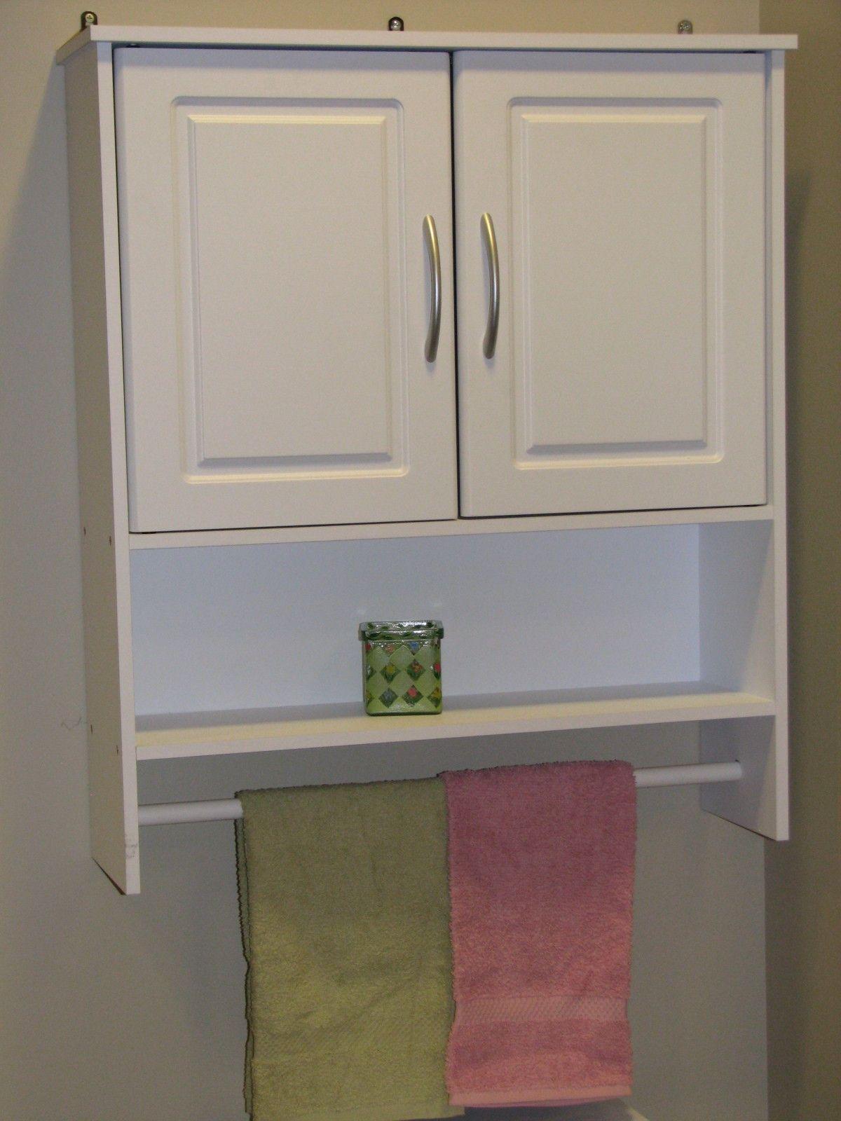 99 Bathroom Wall Cabinet With Towel Bar