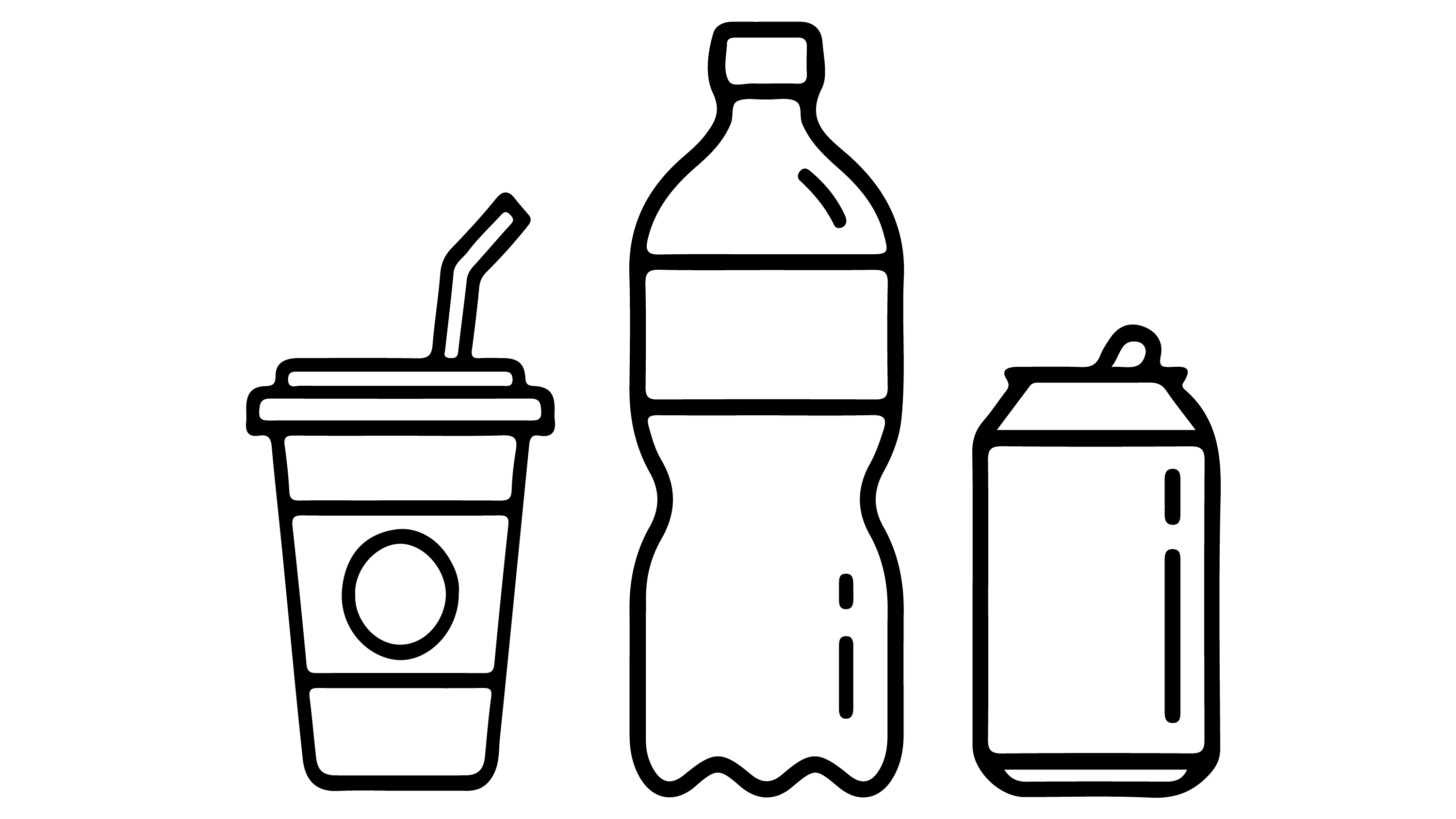 Draw The Drinking Bottles And Coloring Page Educational Videos