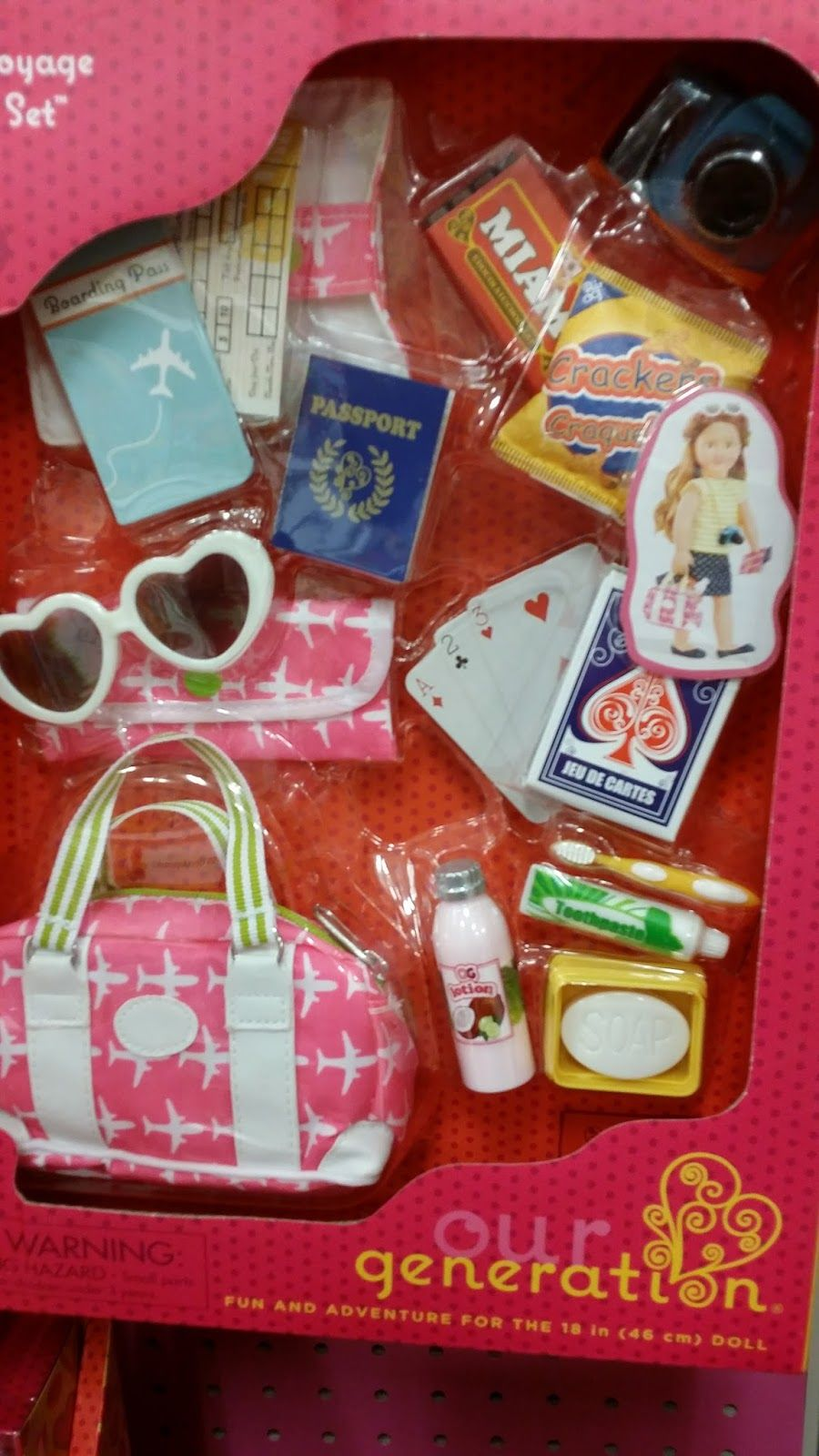 American girl doll crafts and fun around the water