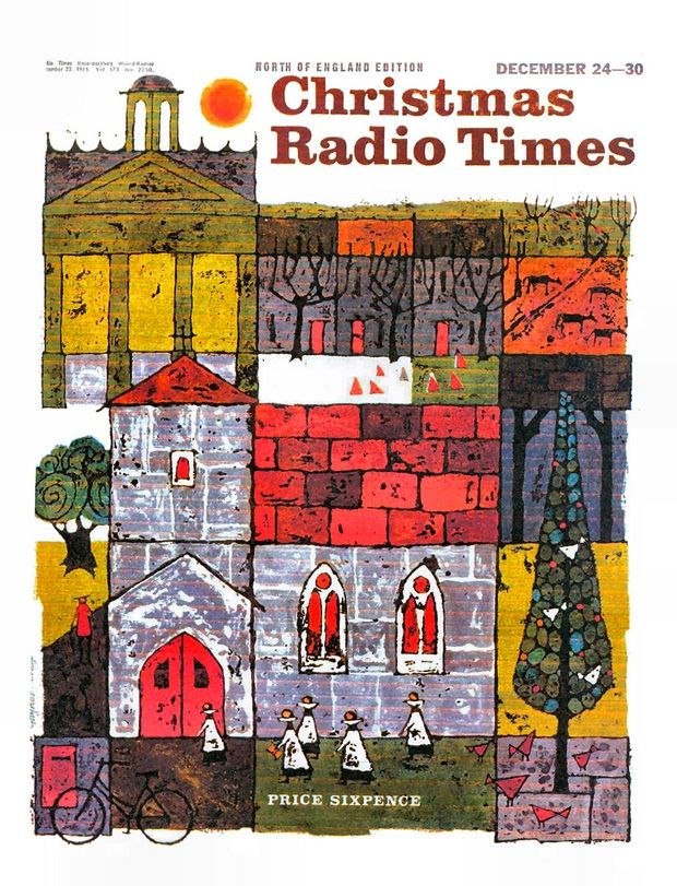 archival covers of radio times the weekly uk radio and television