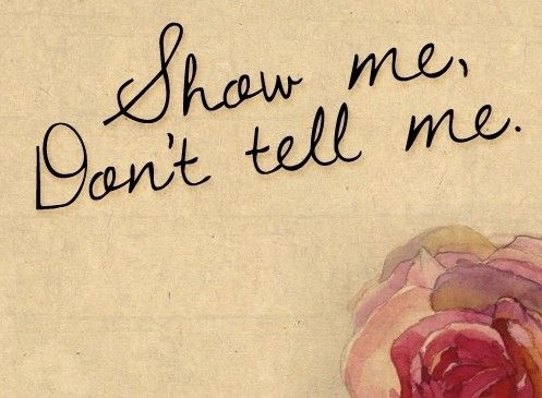 365 Days of Allowing – My Journey: Day 76 ~ Show Me, Don't Tell Me (Actions Speak LOUDER)