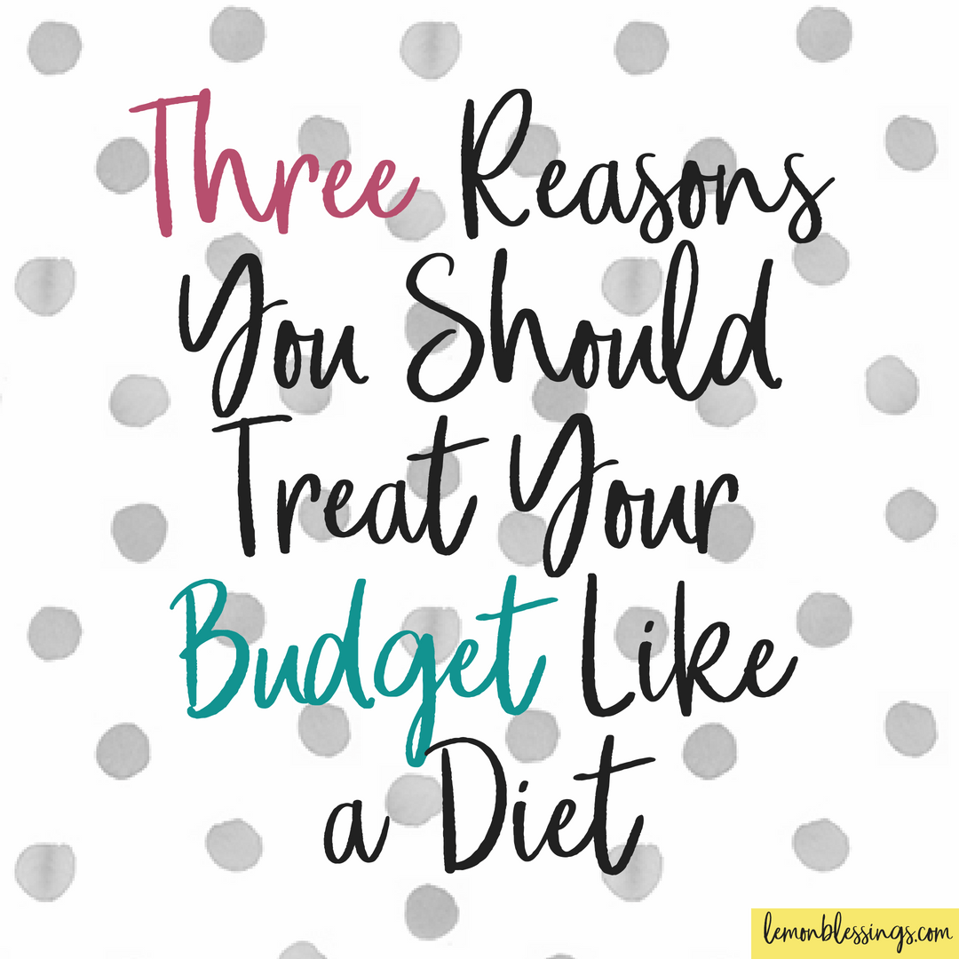 Three Reasons You Should Treat Your Budget Like A Diet Money Plan Shopping Spree After Seven Months Of Hardcore Budgeting Its Wearing On Me Bit I Really Want To Get That Credit Card Back Out And Go For New Clothes