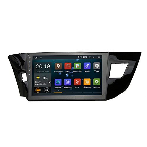Sygav Android 5 1 1 Lollipop Car Head Unit Stereo Video Player For Toyota Corolla 2014 2015 2016 Quad Core In Dash 2 Din Toyota Corolla Car Gps Car Head Units