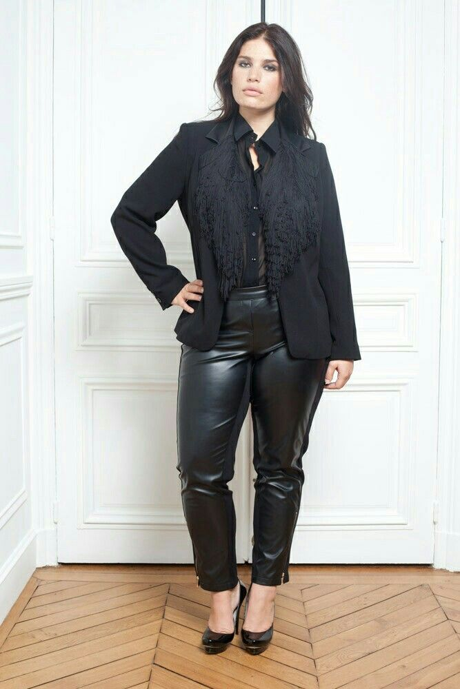 Women in leather pants youtube 1