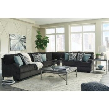 Best 3 Pc Sectional Living Room Furniture Charcoal Sectional 400 x 300
