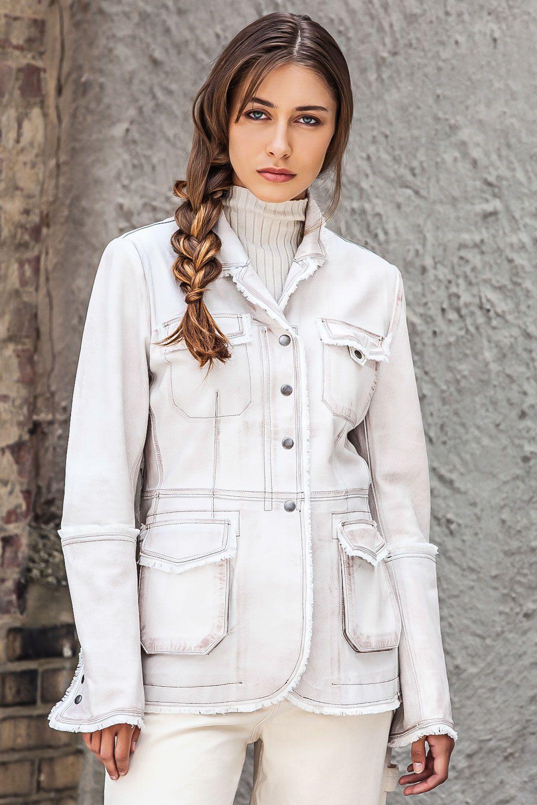Meryl Vintage Leather Vintage leather jacket, Vintage