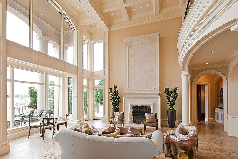Decorating Idea For Living Rooms With High Ceilings high ceiling rooms and decorating ideas for them | decorating