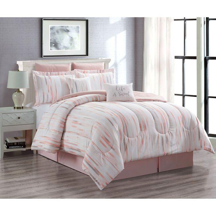 Kitson 8pc Queen Comforter Bed Comforter Sets Comforter Sets Queen Comforter Sets