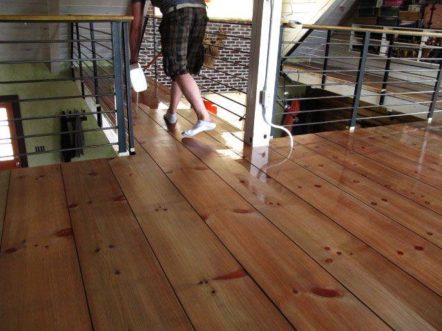 diy wide plank hardwood floors lumber yard planks end up 125ft