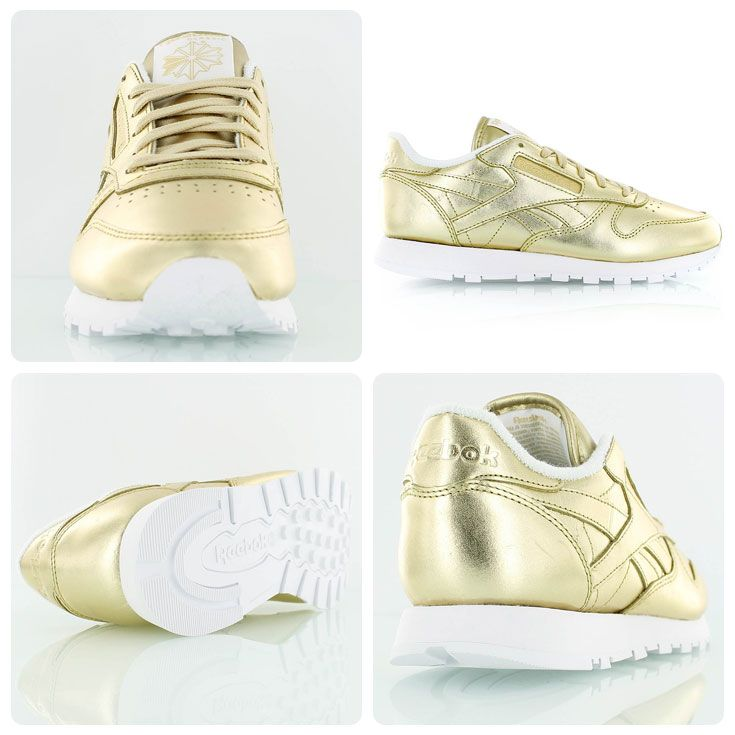 5f4d6cdfc99 Reebok x FACE Stockholm Classic Leather Spirit gold