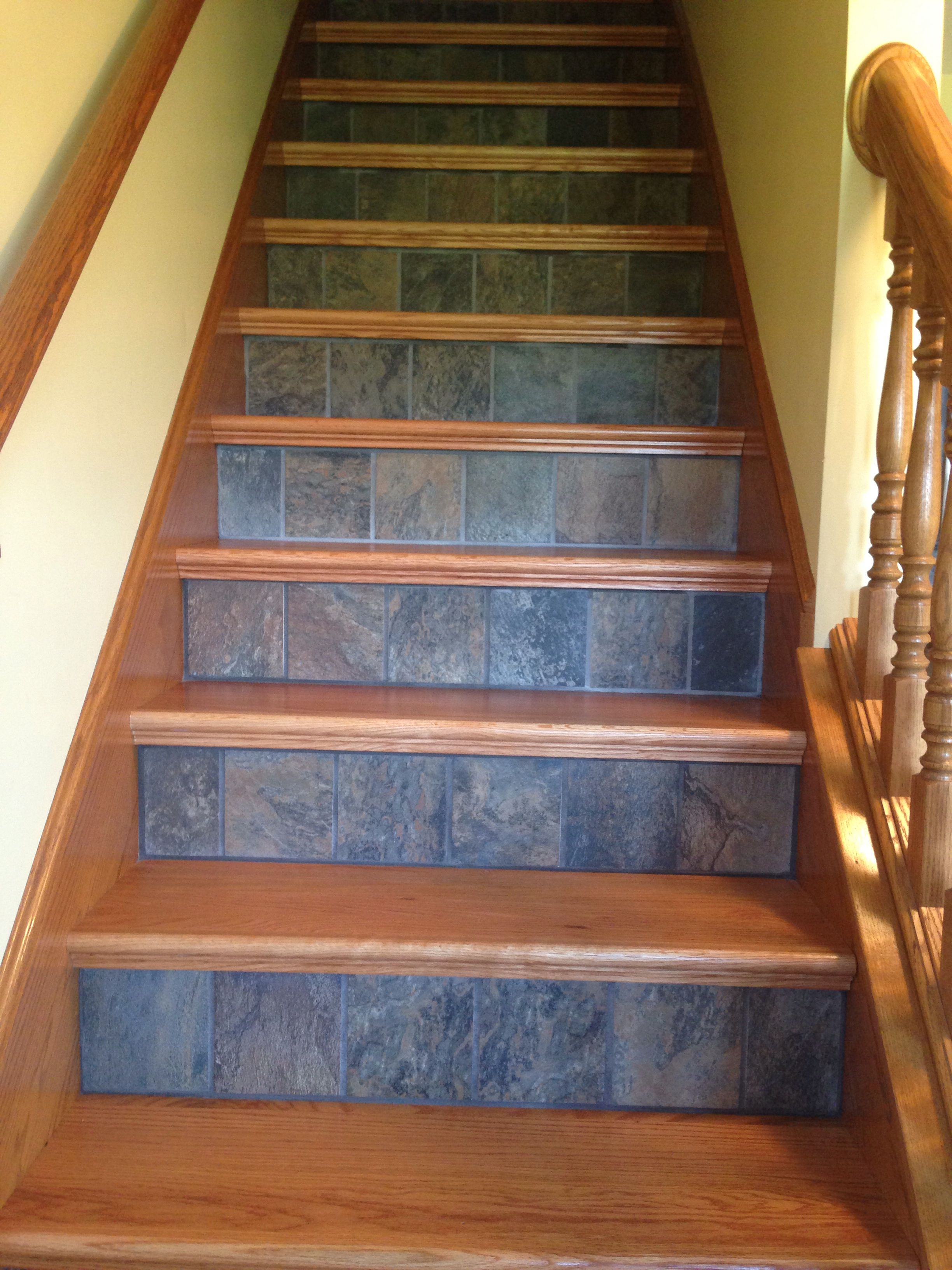 Replacing The Carpet On Stairs With A Fresh Look With Images Home Remodeling Diy Stairs