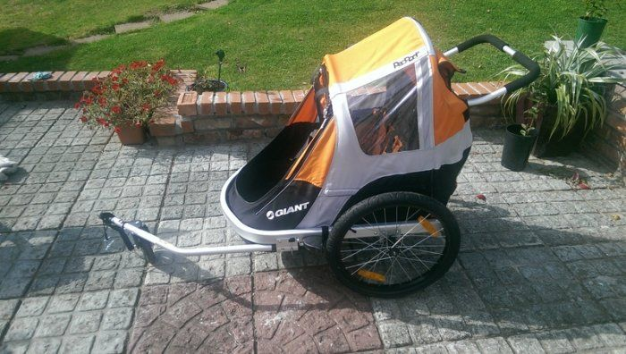 Double Child Bike Trailer Giant Peapod Duo For Sale In Arklow Wicklow From Tradtshirt Child Bike Trailer Baby Essentials Newborn Pack And Play