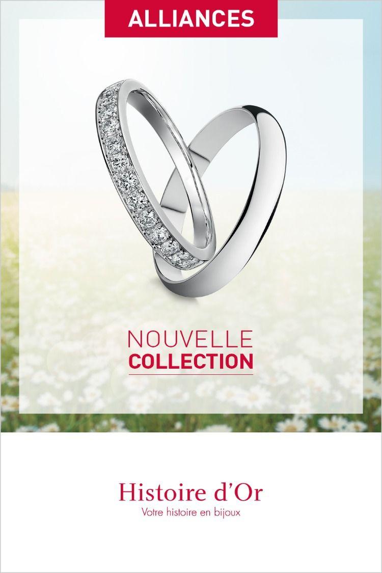 Admirable Histoire d'Or   Bijoux mariage, Bague mariage, Bague alliance QC-17