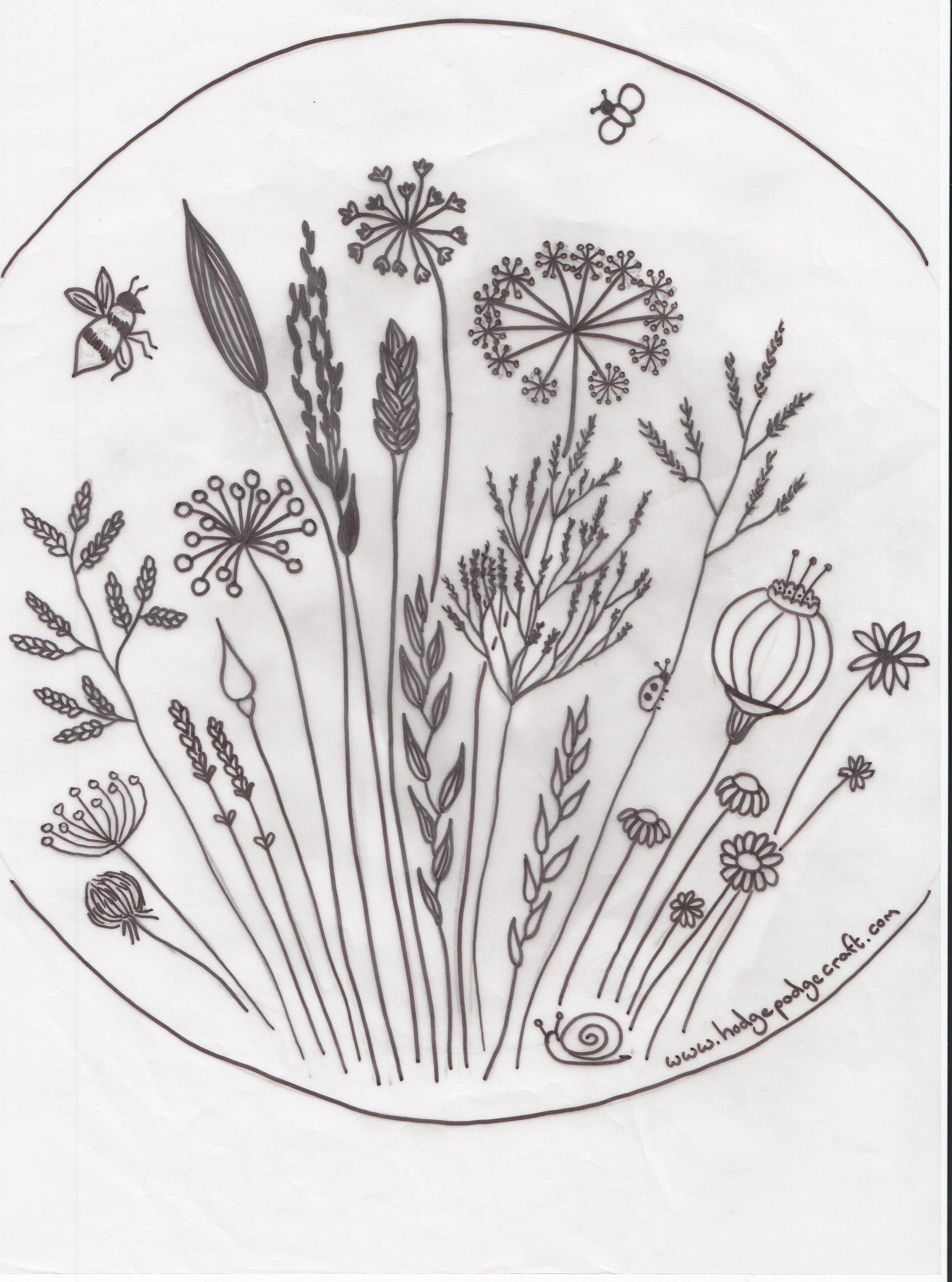 Meadow flower patterng 24963360 pixels embroidery todays post is a free embroidery pattern that i designed for my grannys birthday bankloansurffo Images