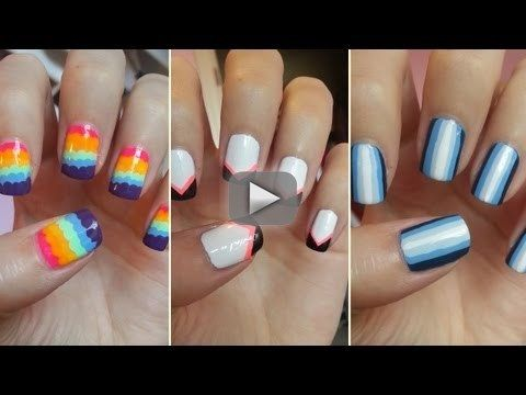 Easy Nail Art For Beginners 5 Nail Art For Beginners 1 Nail