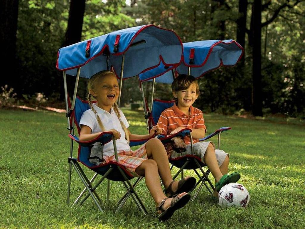 Childs Folding Canopy Chair  sc 1 st  Pinterest : outdoor folding chairs with canopy - memphite.com
