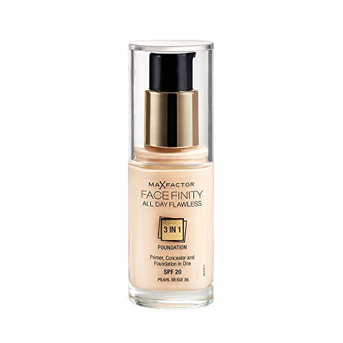 Max Factor Face Finity All Day Flawless 3 in 1 Foundation 35 Pearl ...