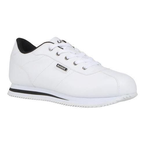 Men's Lugz Metric Low Cut Sneaker White/ Perma Hide