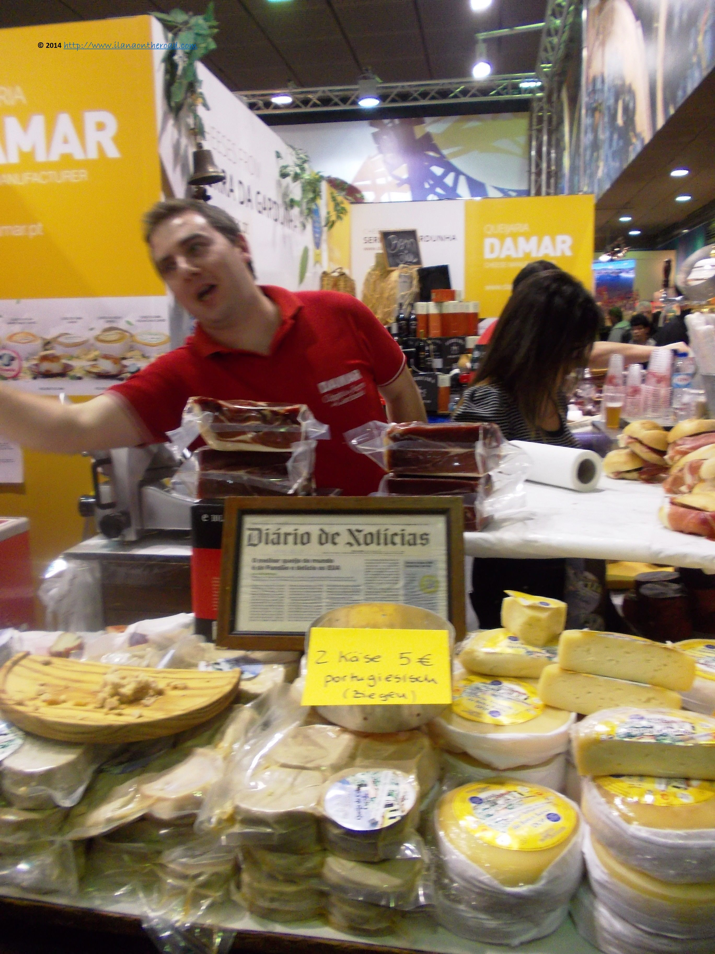 A foodie tour of the world in less than 365 days: http://foreignerinberlin.blogspot.de/2014/01/sunday-at-international-green-week.html