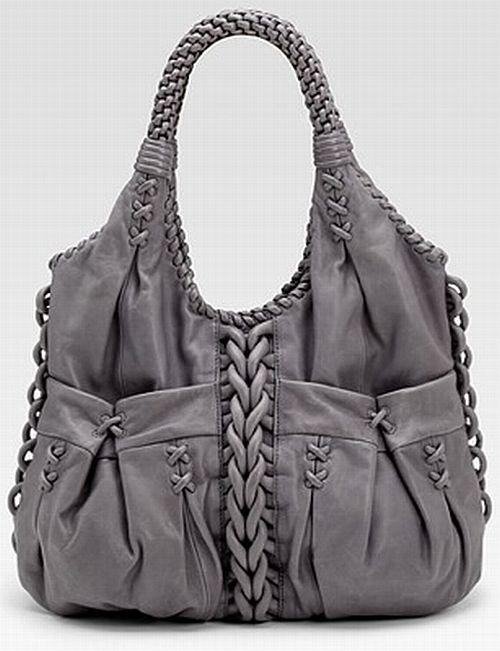 Braided bag.