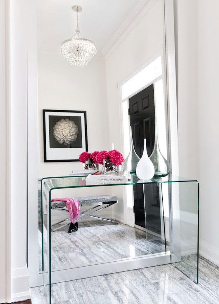 67 Best Entry Table Decor Ideas Cute Foyer Entrance Tables 2020 Guide Entry Table Decor Hallway Mirror Home