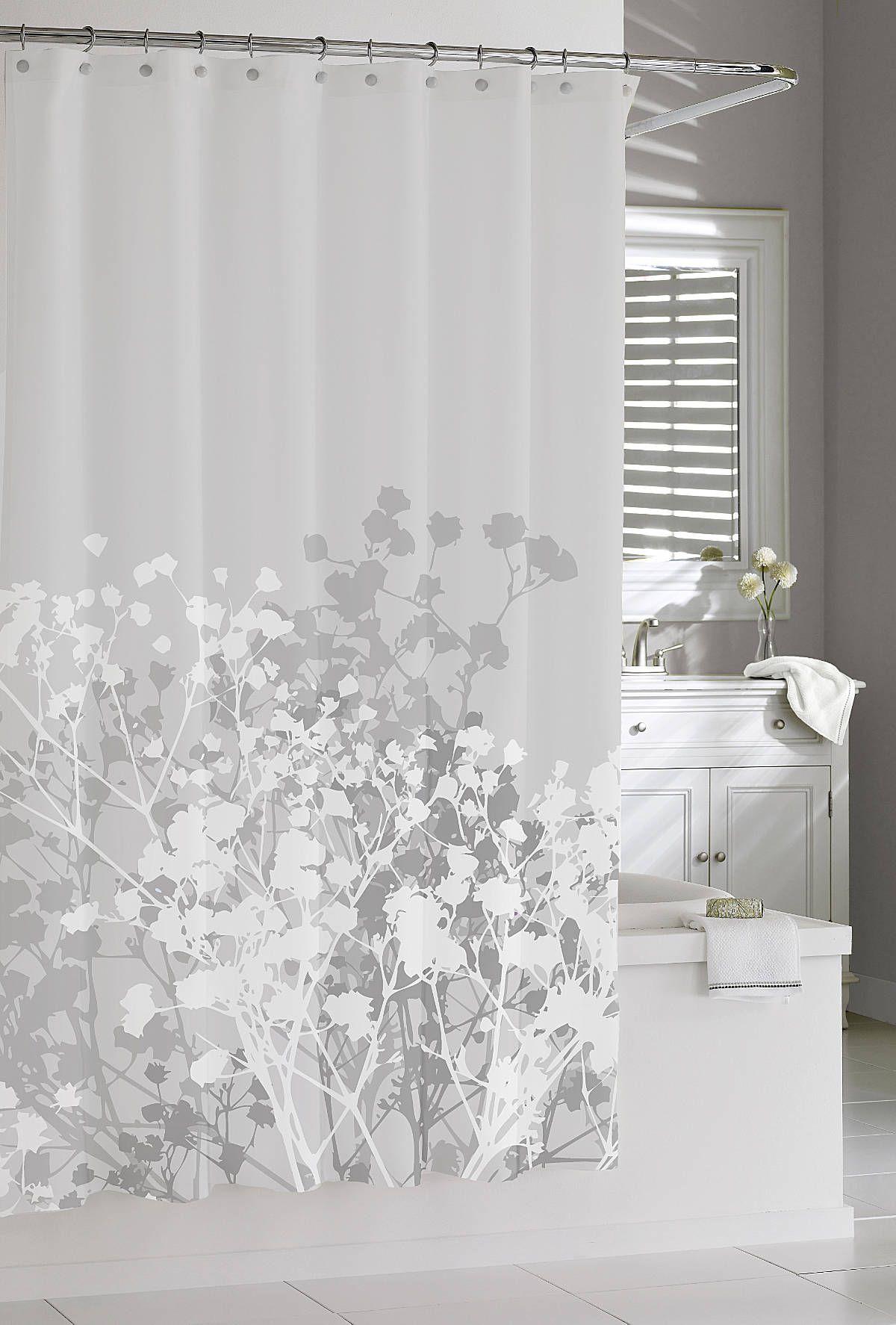 Willow grey shower curtain bathroom ideas pinterest gray