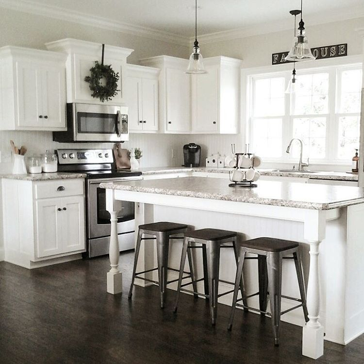 White Kitchen Cabinets Color Schemes: Pin By Abbie Wrights On Kitchen Remodel