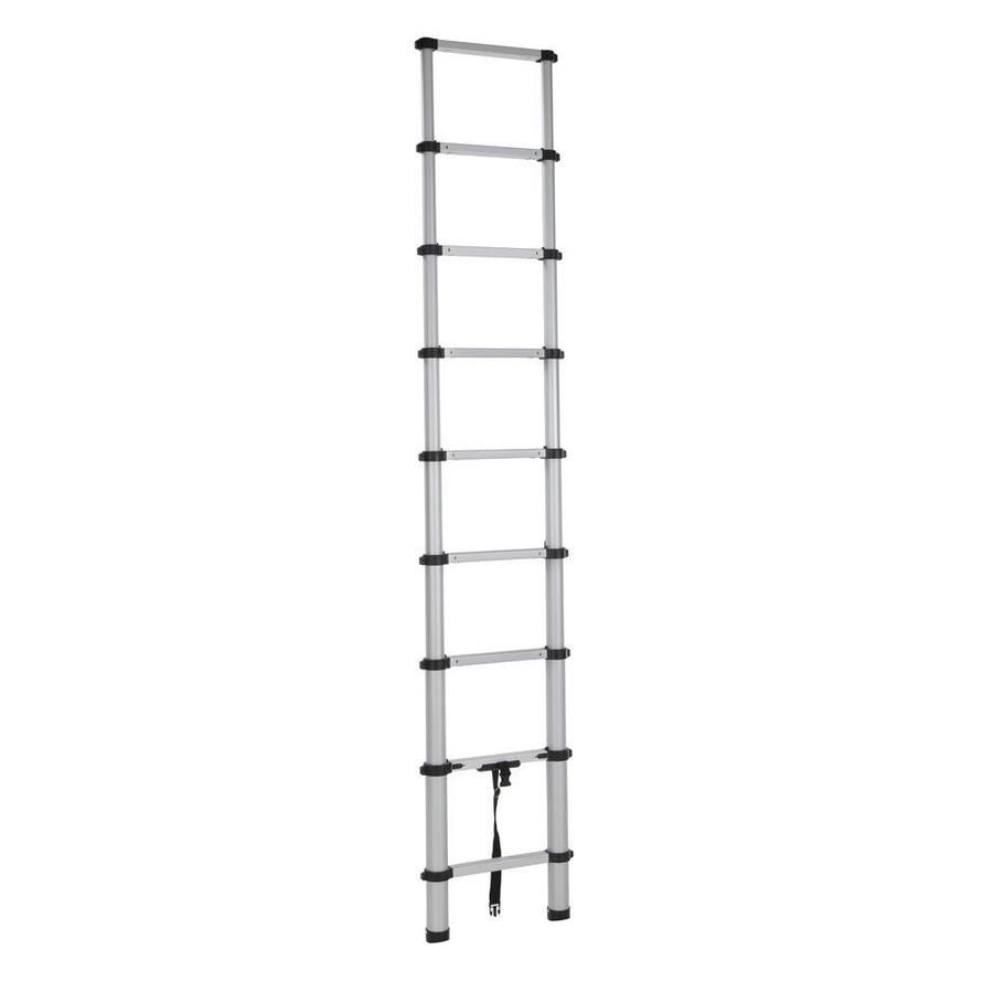 Cosco Smartclose Aluminum 12 Ft Type 1a 300 Lbs Capacity Telescoping Extension Ladder 20309t1ase In 2020 Aluminium Ladder Ladder Innovation Design