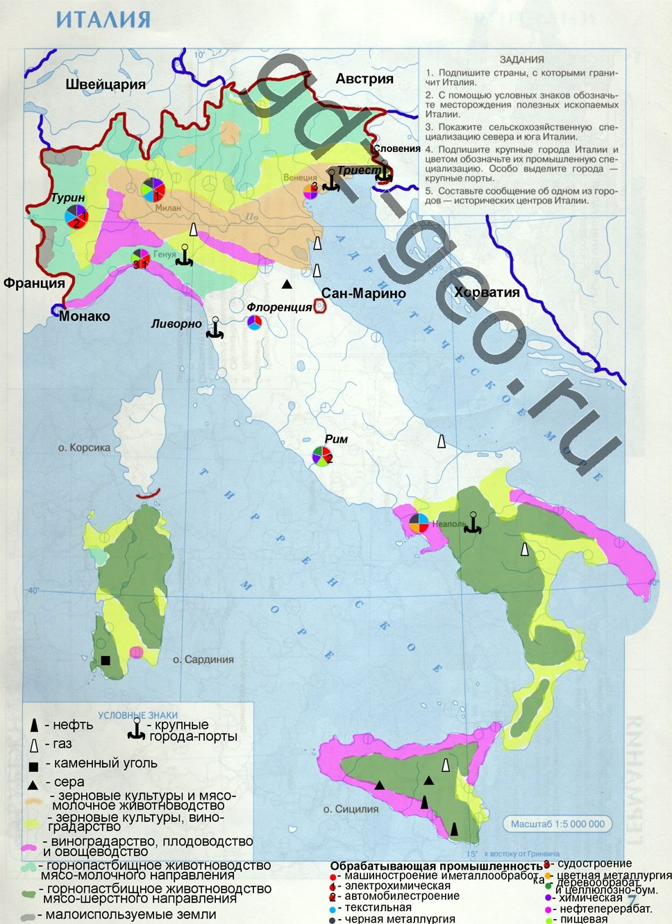 Гордеева 6класс география