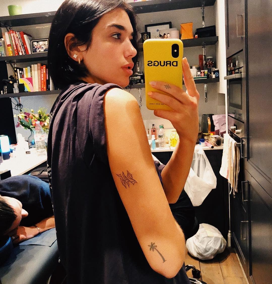 Dua Lipa Tattoo