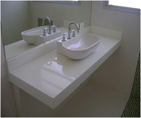 A casa da Mi Pedras para os Banheiros  Casa  Pinterest  Search and Car -> Pia De Banheiro Branco Prime