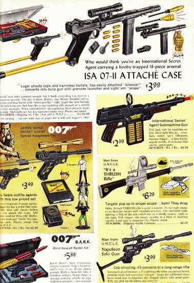 Spy Guns Price: From $3 49 Description Spy movies and spy TV