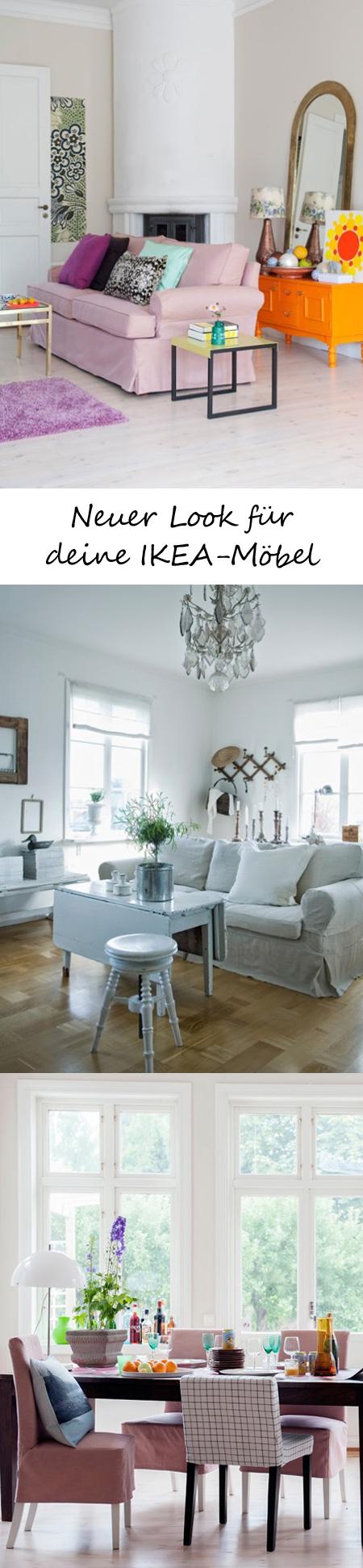 Wohnideen Ikea Möbel coole bezüge neuer look für ihre ikea möbel handicraft creative