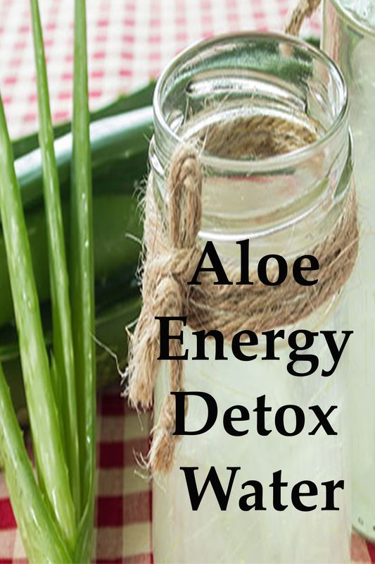 Aloe is a sensational digestive aid, and its incorporation into DIY detox water…