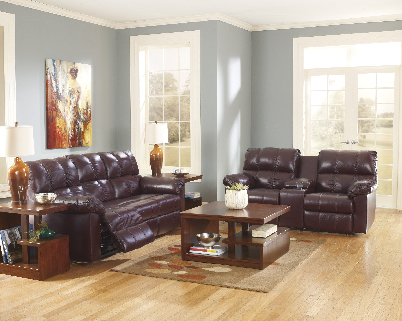 Reclining living room set ashley leather reclining livin