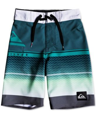 b84a87b88f Quiksilver Highline Swim Trunks, Toddler Boys - White 2T | Products ...