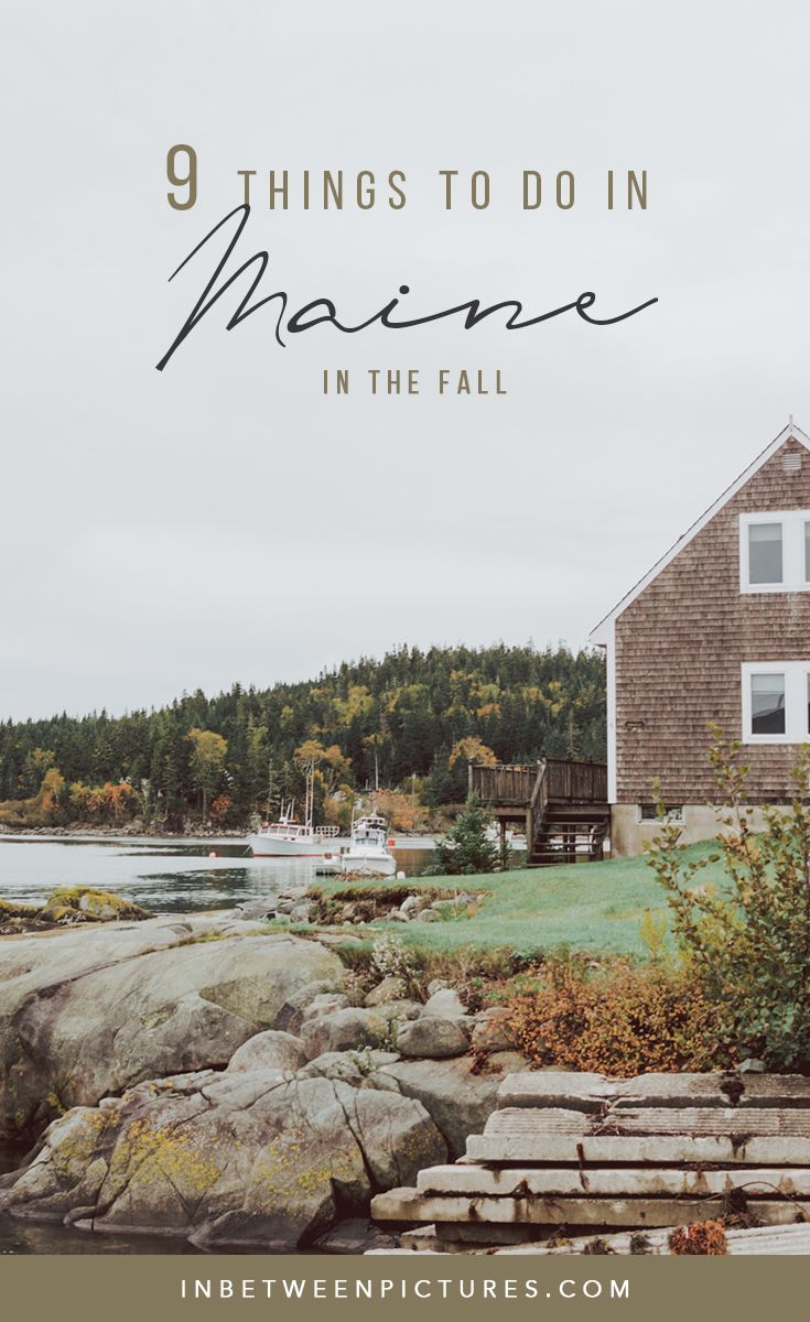 The Ultimate Guide to Planning a Trip To Maine in The Fall