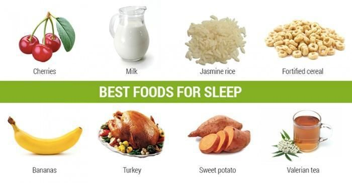 You Get Advices All The Time About Foods You Should Not Eat Before Going To Sleep But Do You Know Which Foods You C Food For Sleep Food Healthy Bedtime Snacks