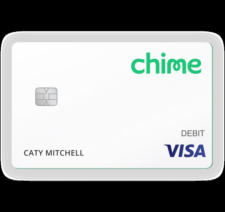 Chime Visa Debit Card Visa debit card, Banking app