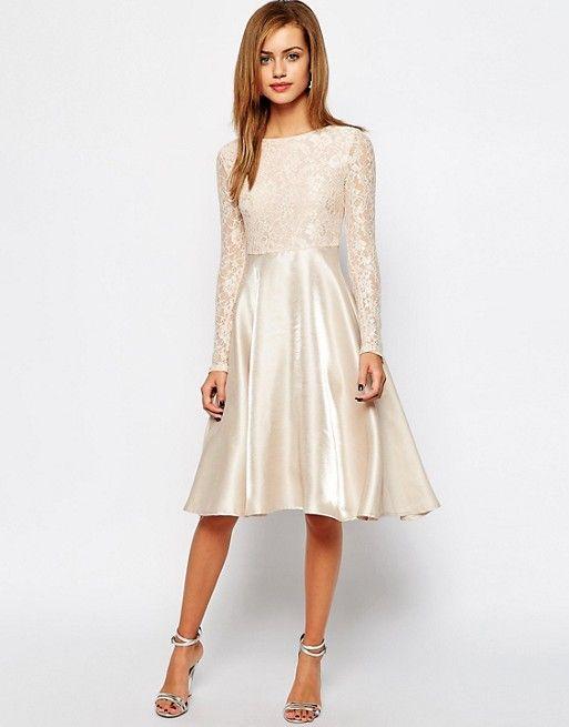 Discover Fashion Online | Weißes spitzenkleid ...