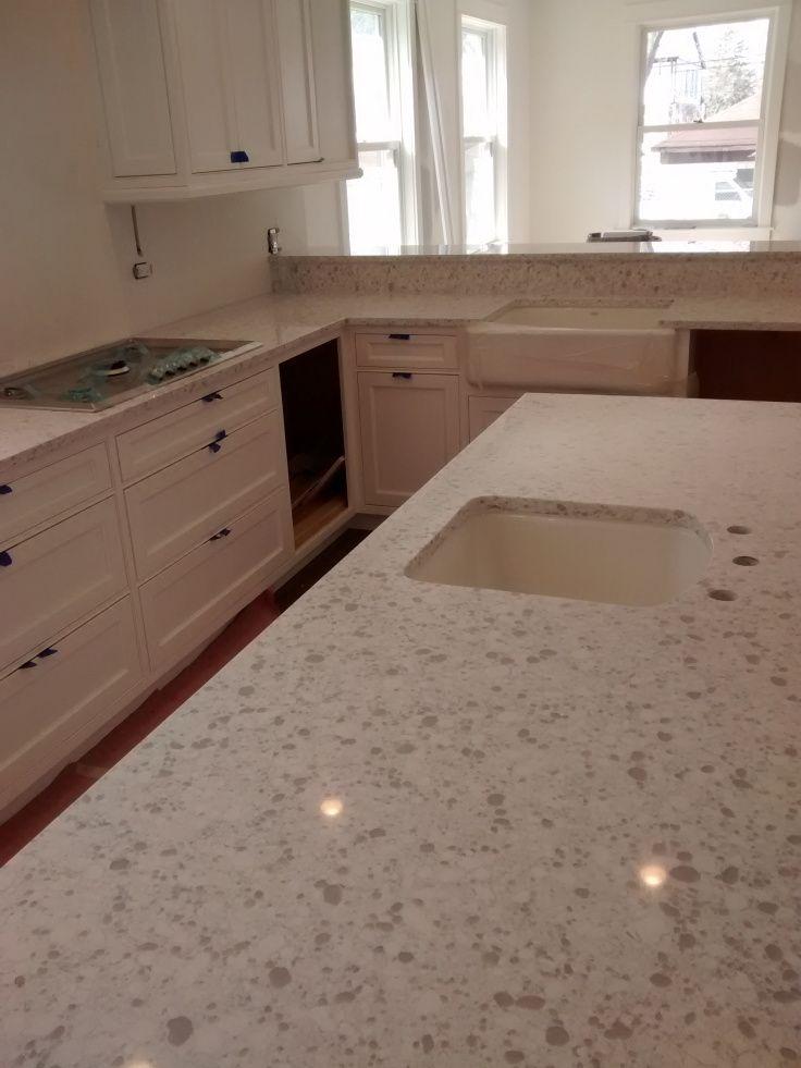 Zodiaq Snowdrift Counter Tops Www Oprflife Com Kitchen Inspirations Kitchen Layout Countertops