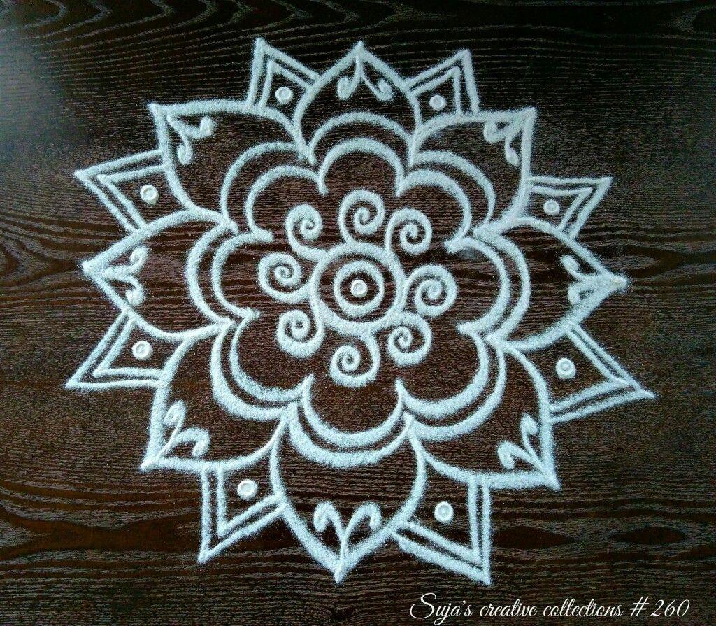 Rangoli Latha Rangoli Designs Flower Small Rangoli Design