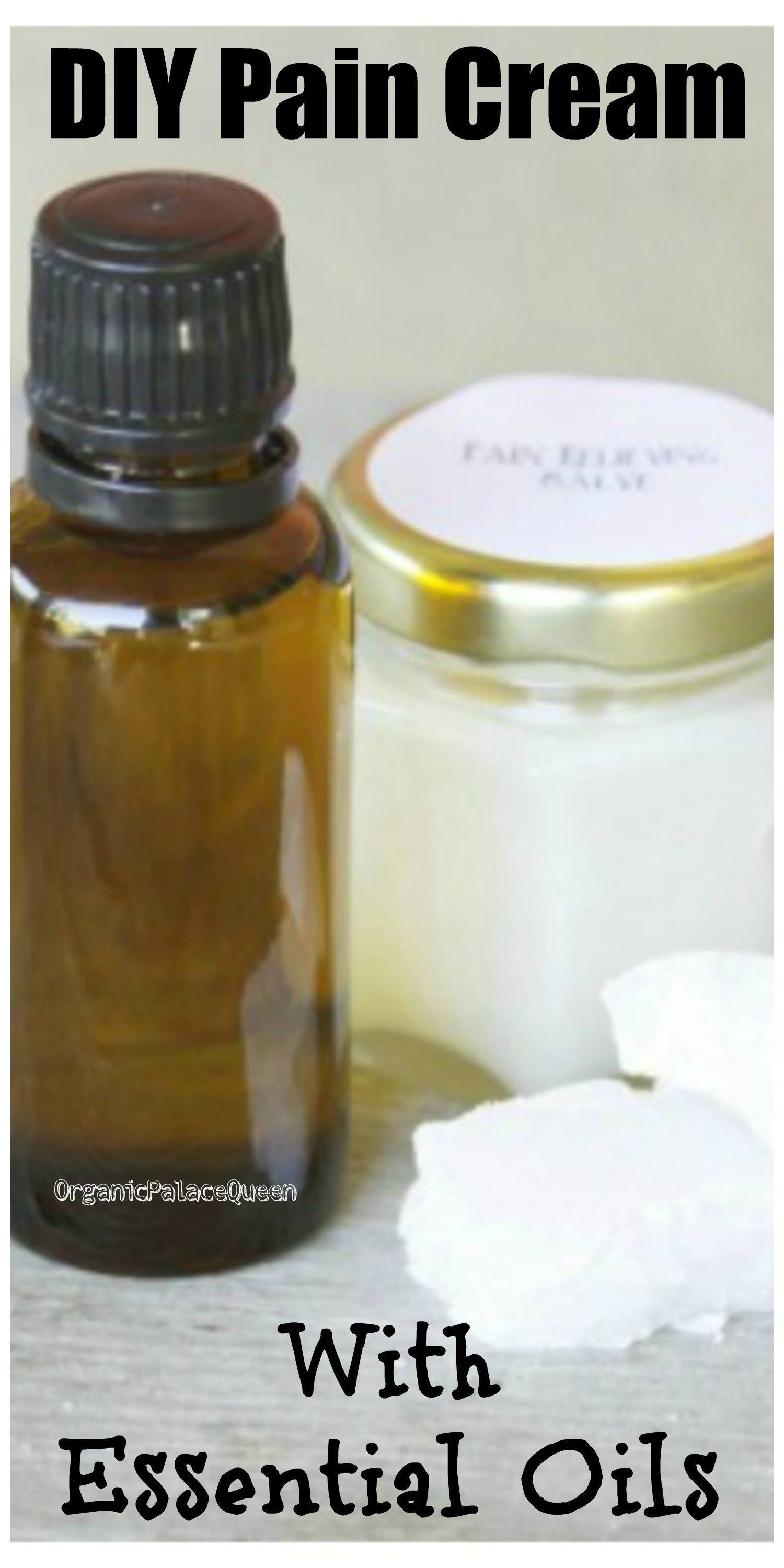 Homemade pain cream with essential oils   Expired Domains