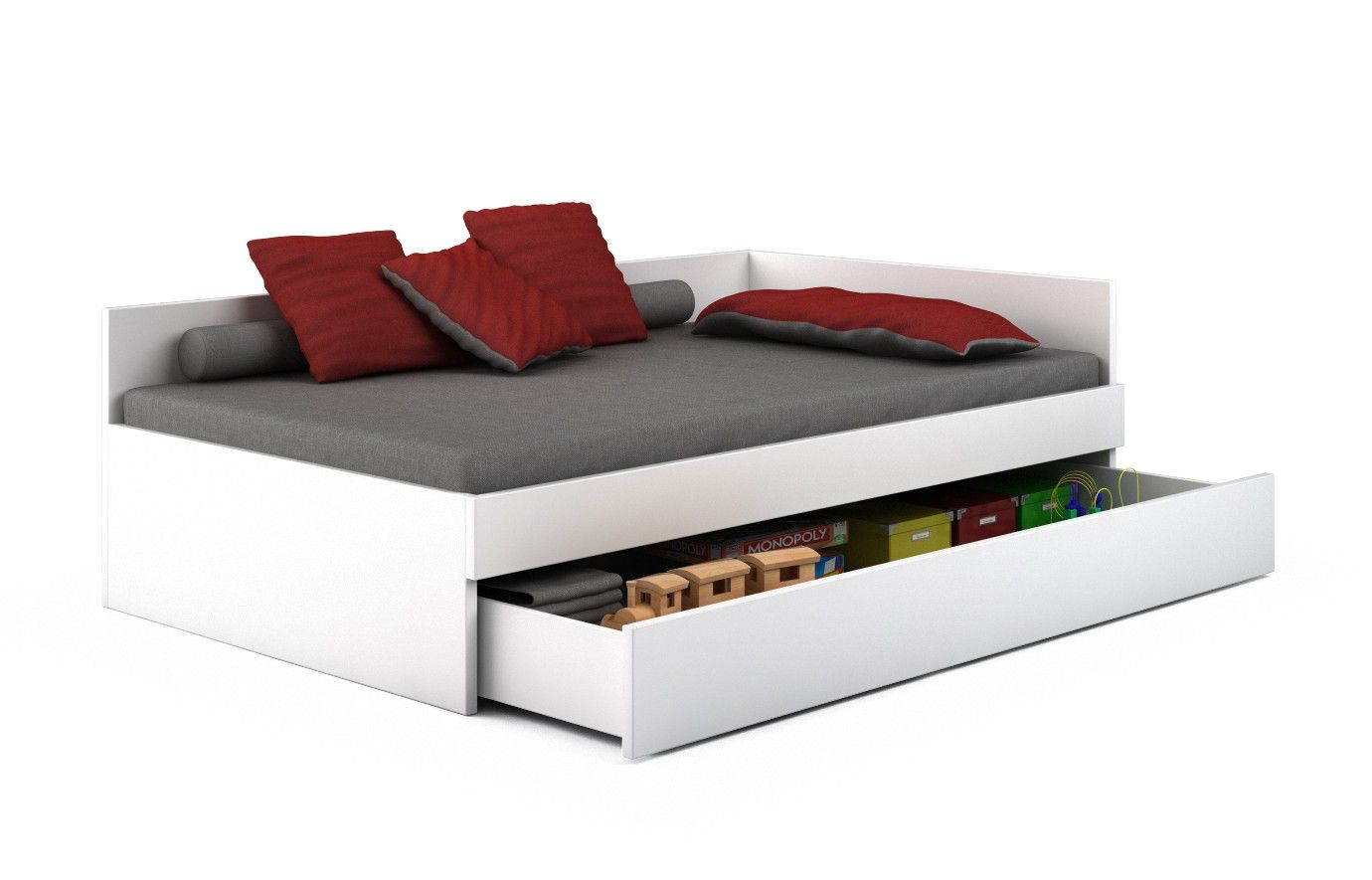 Bett Weiß Tigre 100 x 200 cm Nein | Kinderzimmer | Pinterest