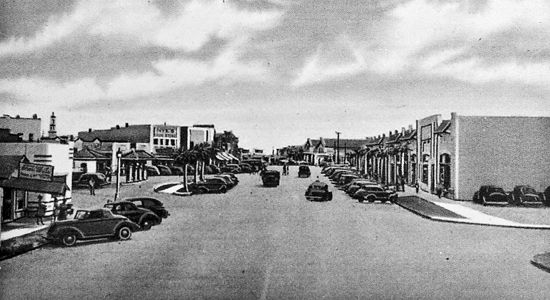 History Myrtle Beach On Main Street And Broadway