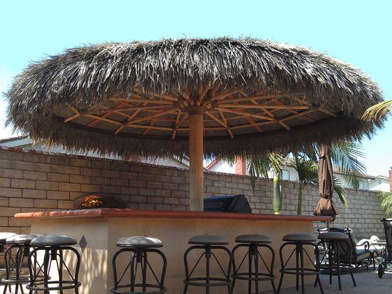 Palapa Structures | Palapas | Single Pole Palm | Outdoor ... on Palapa Bar Backyard id=11236