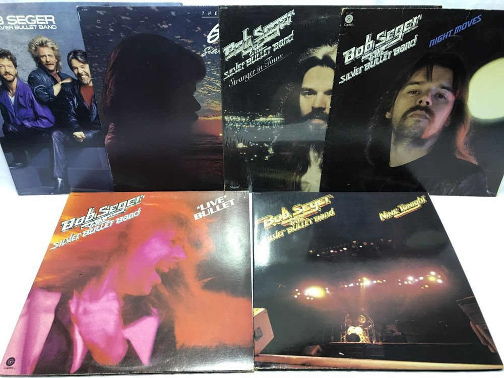 Bob Seger Lp Vinyl Record Lot Stranger In Town The Distance Like A Rock Vinyl Records Bob Seger Lp Vinyl